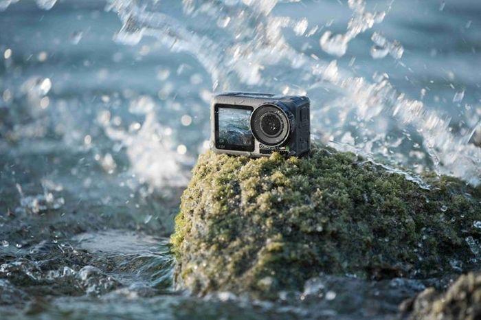 Akčná kamera DJI Osmo Action vodoodolnosť