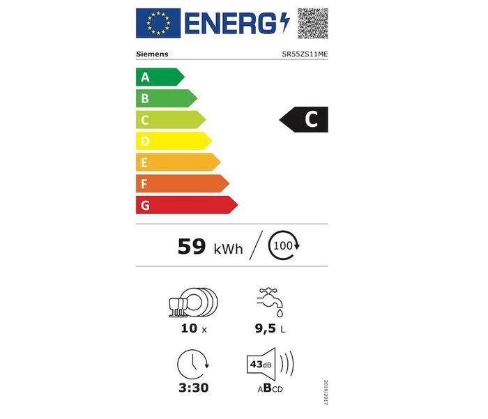 Siemens SR55ZS11ME energetický štítok