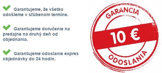 7e32cc830fc6 10 EURová garancia včasného odoslania