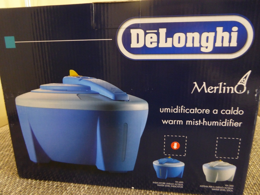 Zvlhčovač vzduchu De Longhi VH 400