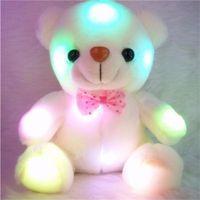 Plyšový LED medvedík