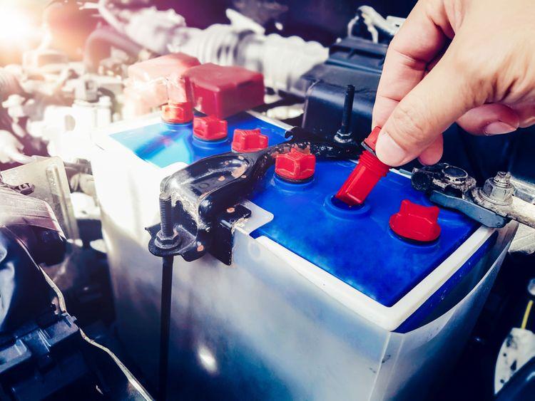 Kontrola autobatérie