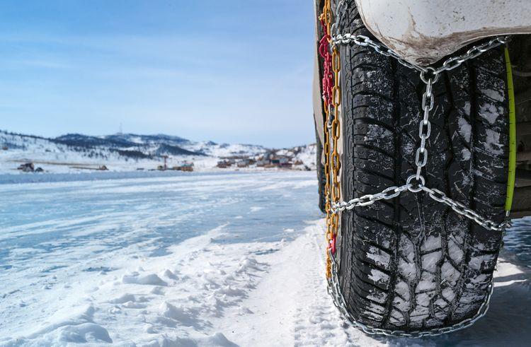 Snehové reťaze na osobné auto