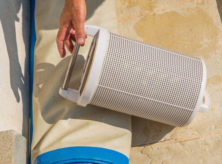 Kartušová bazénová filtrácia