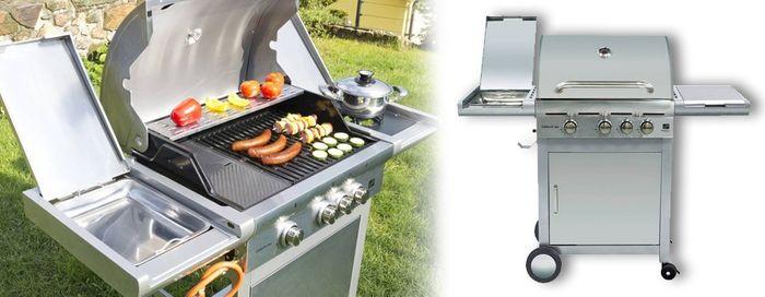 Plynový gril G21 California BBQ Premium line so 4 horákmi