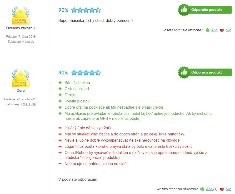 Recenzie a skúsenosti s robotickým čističom okien Hobot 298
