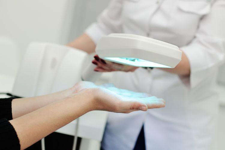 Liečba pomocou biolampy