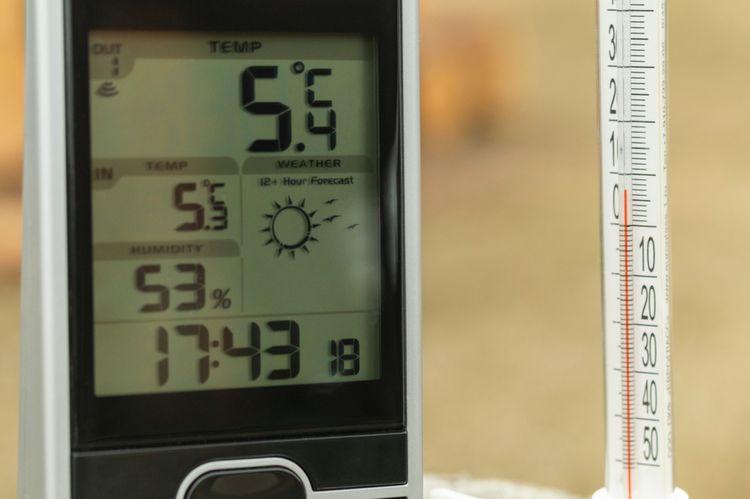 Rozsah a presnosť merania meteostanice