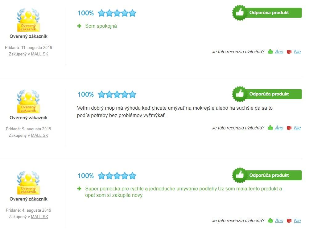 Recenzie a skúsenosti s mopom Vileda Easy Wring & Clean Turbo