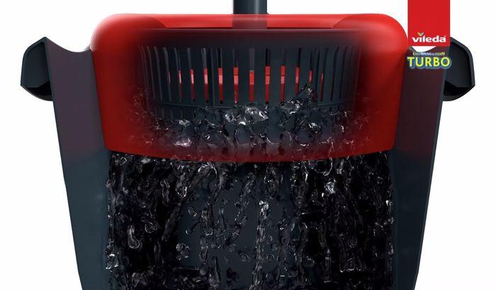 Žmýkací systém vedra Vileda Easy Wring & Clean Turbo