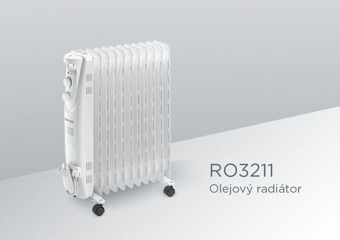 Olejový radiátor Concept RO-3211