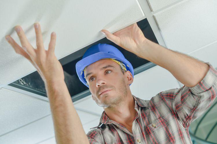 Vysokoteplotné stropné vykurovacie panely