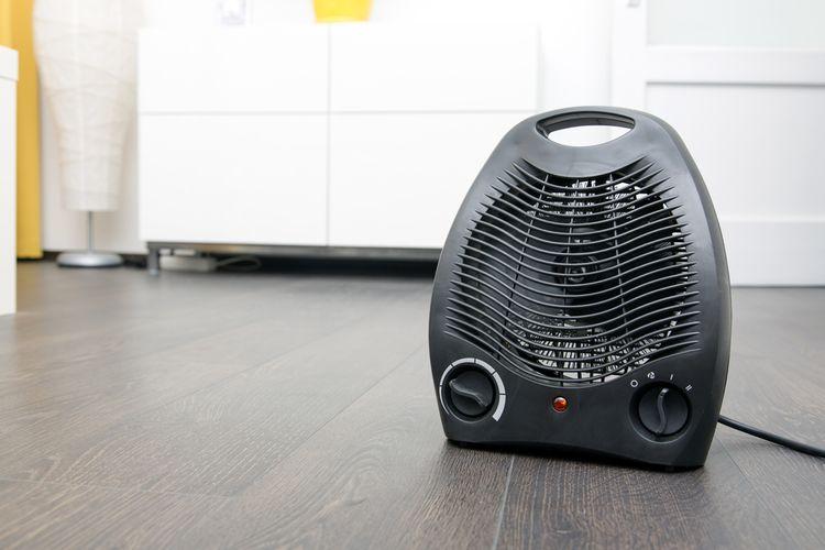 Ohrievacie teleso teplovzdušného ventilátora