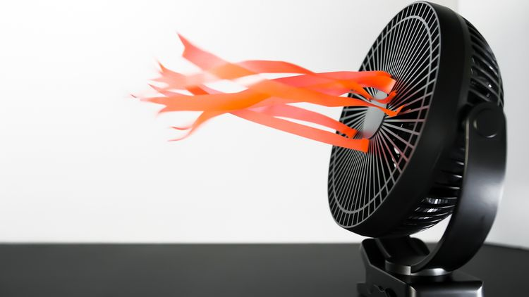 Teplovzdušné ventilátory ohrievaju vzduch rovnomerne