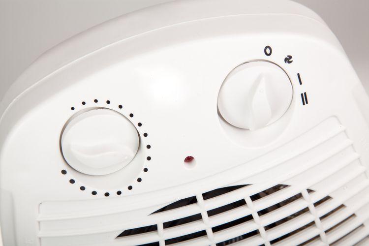 Ovládanie teplovzdušného ventilátora