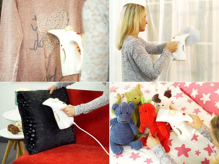 Naparovač odevov Rovus sa dá použiť na rôzne druhy textílií