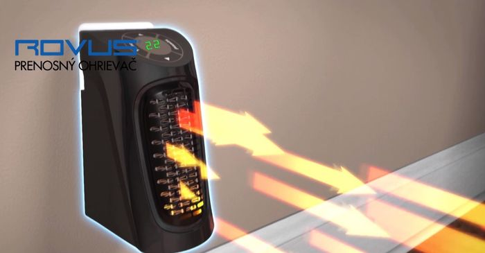 Rovus Handy Heater prenosný ohrievač
