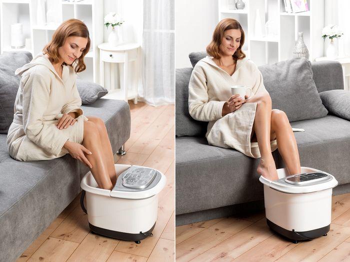 Wellnes SPA na nohy 2v1 domáci wellness