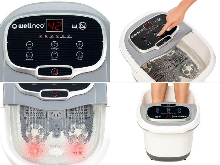Wellnes SPA na nohy 2v1 prístroj na masáž a kúpeľ nôh