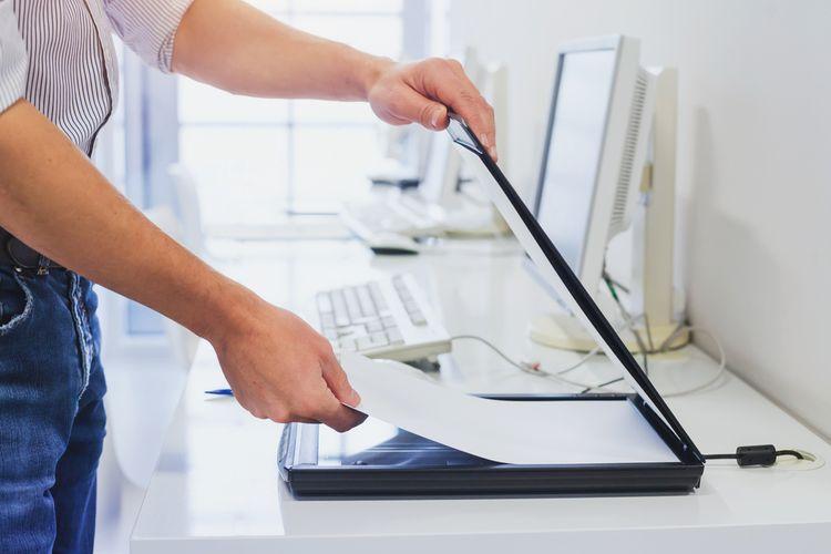 Malý skener na domáce použitie