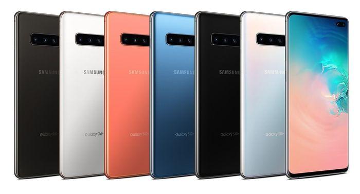 Samsung Galaxy S10 Plus G975F 128 GB v rôznych farebných prevedeniach