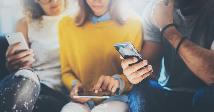 Aktívne používanie smartfónu