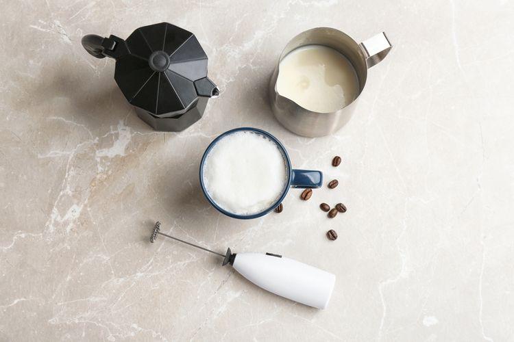 Napeňovač mlieka