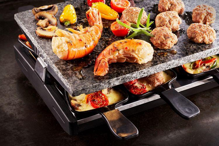 Rakletovací alebo raclette gril