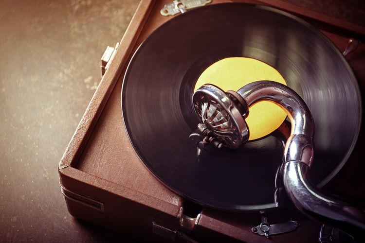 Retro gramofón