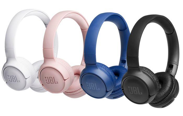 Bezdrôtové slúchadlá cez hlavu JBL Tune 500BT v rôznych farbách