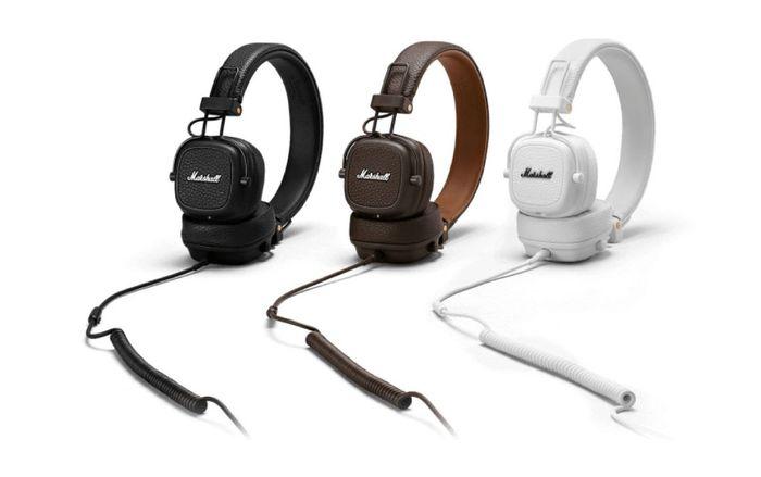 Bezdrôtové slúchadlá Marshall Major III Bluetooth farebné prevedenia