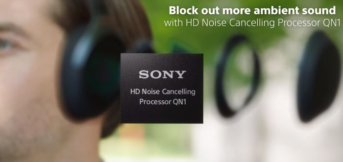 Čip QN1 bezdrôtových slúchadiel Sony WH-1000XM3