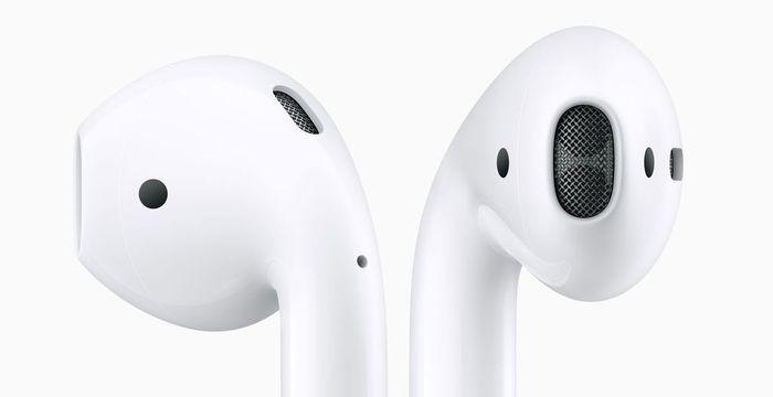 Bezdrôtové slúchadlá do uší Apple AirPods