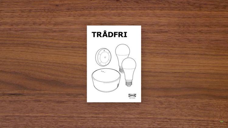 TRÅDFRI inteligentné osvetlenie od Ikea