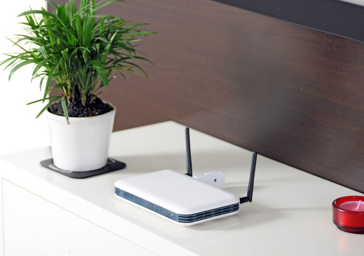 Biely WiFi router