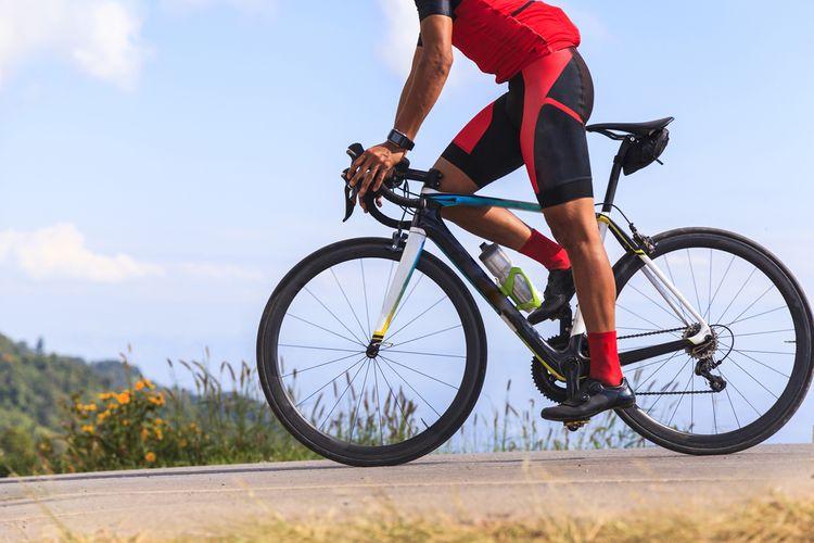 Bicyklovanie na cestnom bicykli