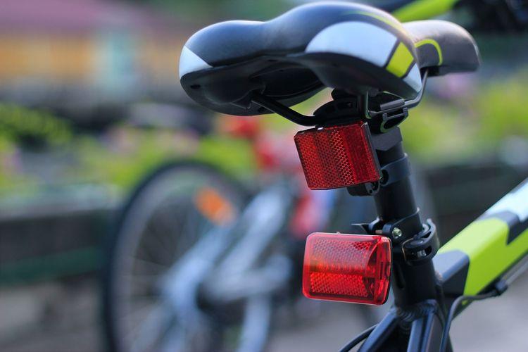 Zadné svietidlo na bicykel