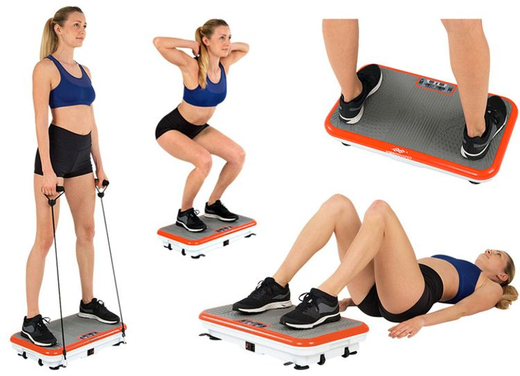 Cvičenie na Gymbit Vibro Shaper