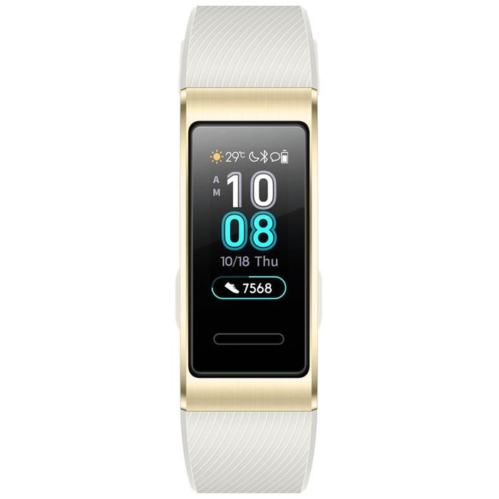 Biely fitness náramok Huawei Band 3 Pro