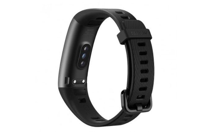 Optický senzor fitness náramku Huawei Band 3 Pro