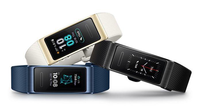Fitness náramok Huawei Band 3 Pro v 3 farbách