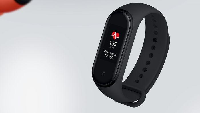 Meranie srdcovej frekvencie pomocou náramku Xiaomi Mi Band 4
