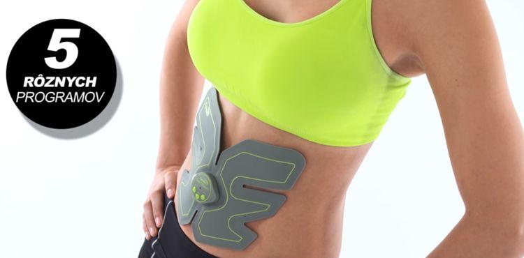 Gymbit 6 Abs Shaper - 5 programov formovania brušného svalstva