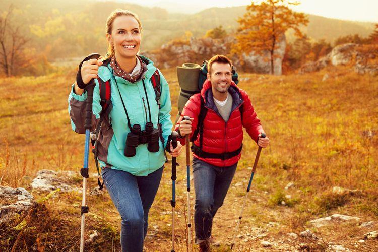 Nordic walking je zdraviu prospešná aktivita