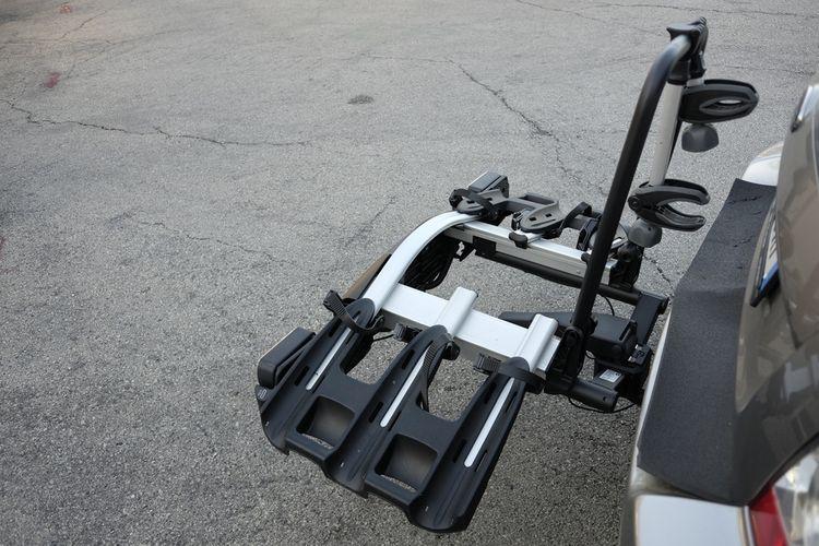 Nosič bicyklov na ťažné zariadenie