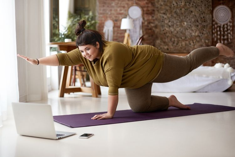 Podložka na cvičenie určená na jogu – jogamatka, yoga mat