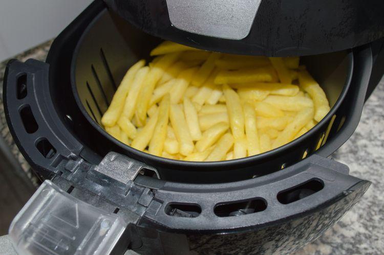 Príprava hranoliek v teplovzdušnej fritéze