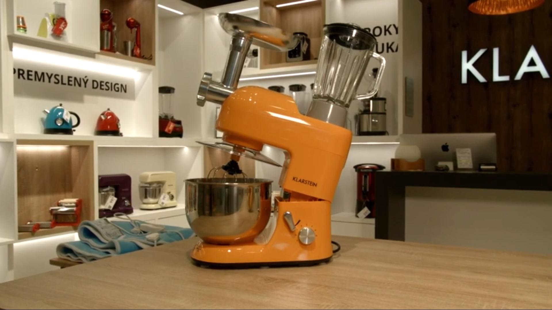 Multifunkčný kuchynský robot Klarstein Lucia Orangina