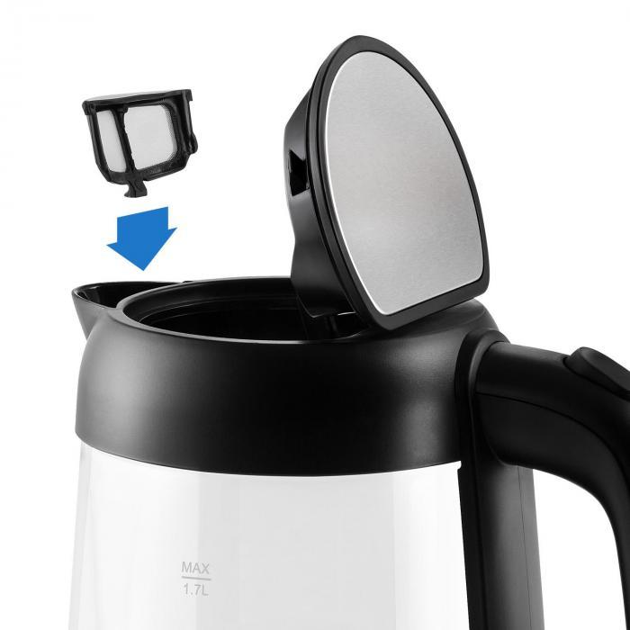 Klarstein Tiefblau vyberateľný filter