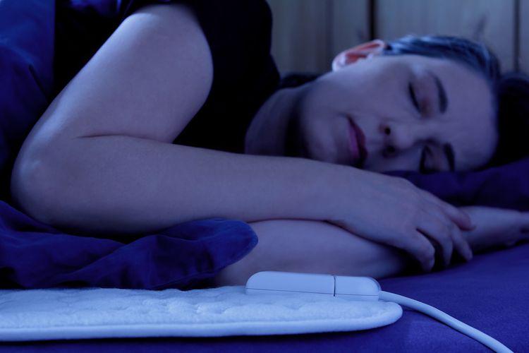 Spánok na elektrickej deke